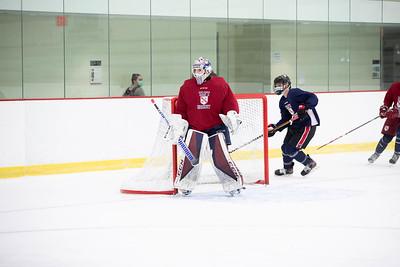 Boys' Varsity & JV Hockey Intersquad scrimmage