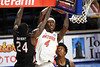 Florida Gators forward Anthony Duruji (4) drives to the basket as the Florida Gators mens basketball team hosted the South Carolina Gamecocks at Exacteh Arena in Gainesville, Florida.  February 3rd, 2021. Gator Country Photo by David Bowie.