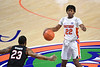 Florida Gators guard Tyree Appleby (22) brings the ball up court as the Florida Gators mens basketball team hosted the South Carolina Gamecocks at Exacteh Arena in Gainesville, Florida.  February 3rd, 2021. Gator Country Photo by David Bowie.