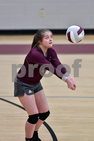 Lisa Academy  vs Perryville volleyball game.