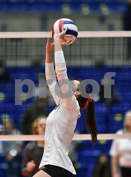 AAA 5 A State Volleyball Finals Greenwood vs Valley Jonesboro.