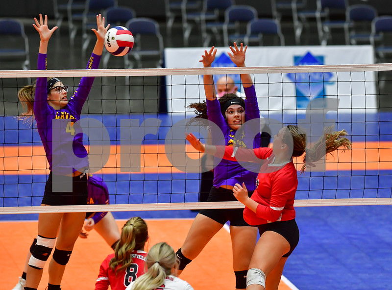 .AAA 2 A State Volleyball Finals Mansfield vs Lavaca