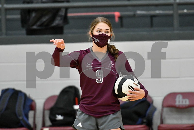 Maroon vs Gray volleyball game