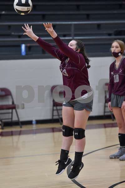 Jessieville vs Perryville volleyball game.
