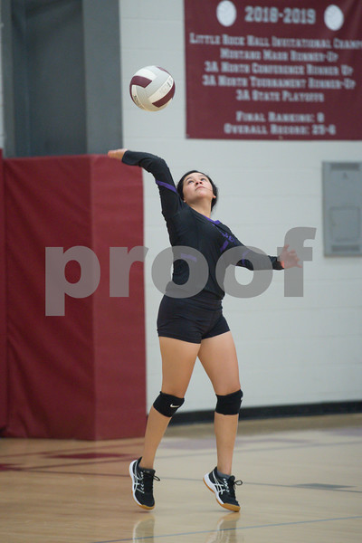 Riverview vs Perryville volleyball game.