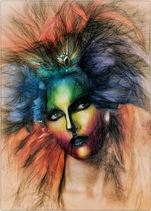 illustrated woman - Anastasia Tompkins PSA Score 9