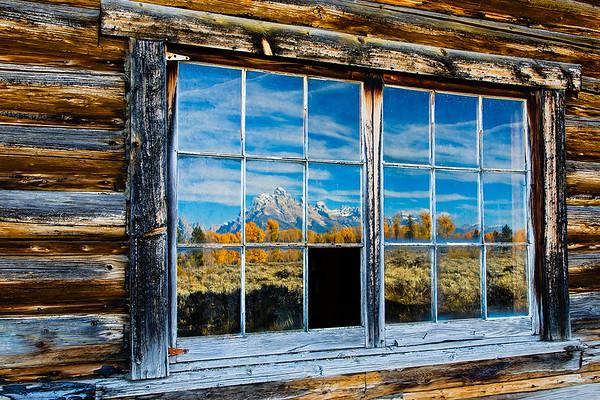 Log Cabin Reflections - PSA Score 10