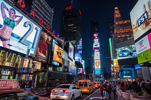 Times Square-Marc Bernstein PSA Score 9