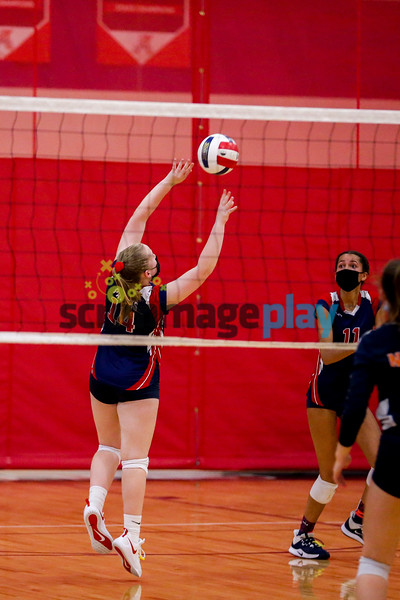 Albemarle volleyball beats North Stafford spring 2021