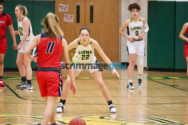 Louisa girls versus Patrick Henry