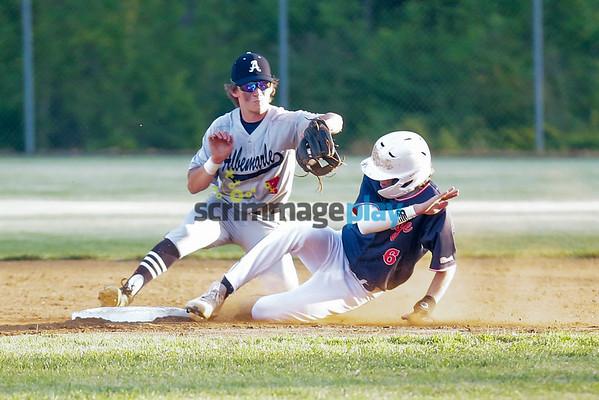 Orange versus Albemarle baseball 2021