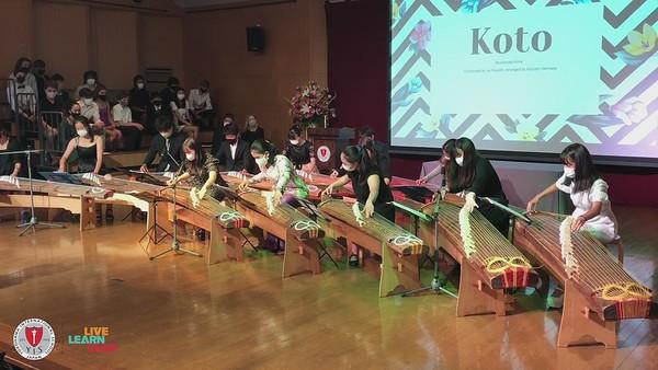 Gr. 8 Graduation Ceremony Koto Performance Final
