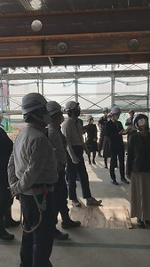 A recent site visit to the first floor of the North Building