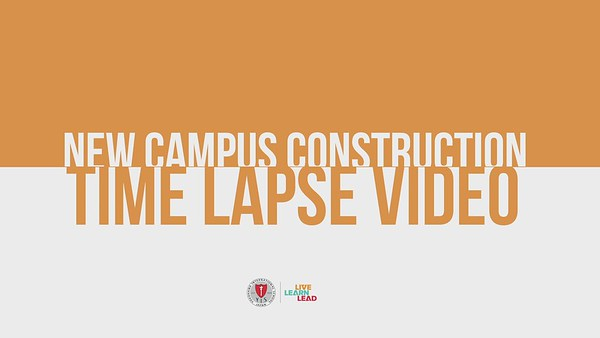 Time Lapse video of structural frame construction