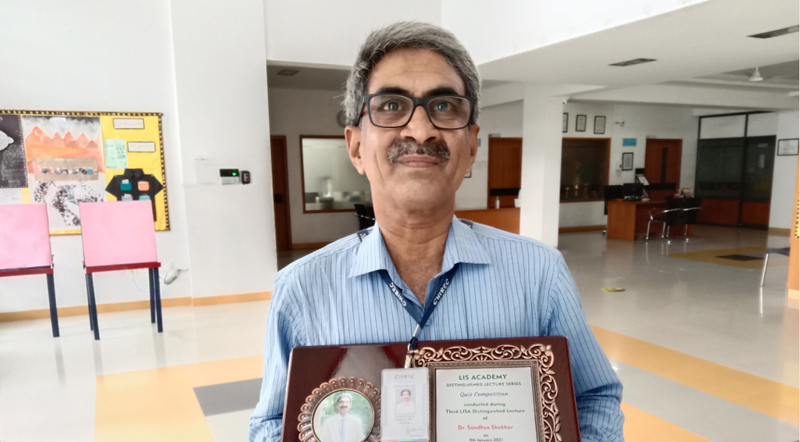 Mr. Arun Kumar Wins Recognition at Third LISA Distinguished Lecture Series