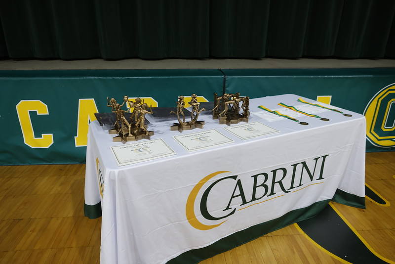 Cabrini Fall Athletic Awards<br /> 2.2.21<br /> Photo: Tyler Kaufman/©2021