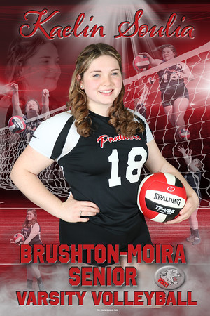 VOLLEYBALL  Kaelin Soulia  -Recovered