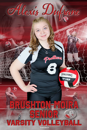 VOLLEYBALL ALEXIS DUFRANE  -Recovered