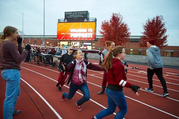 2018 UWL Fall Pepfest Band Student Athletes 0002