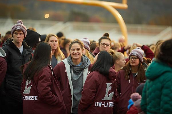 2018 UWL Fall Pepfest Band Student Athletes 0004