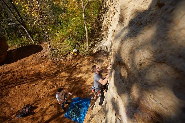 2020 UWL Fall Rock Climbers Grandad Bluff 0056