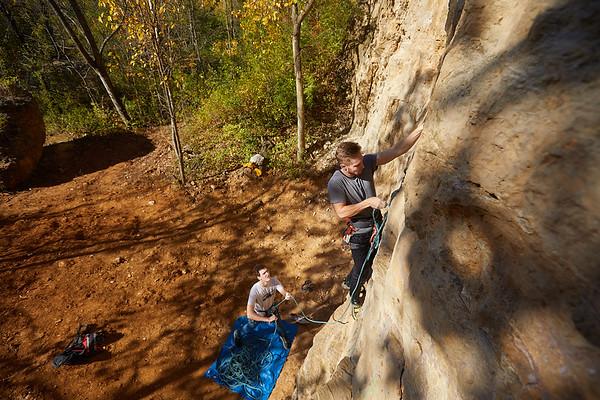 2020 UWL Fall Rock Climbers Grandad Bluff 0062