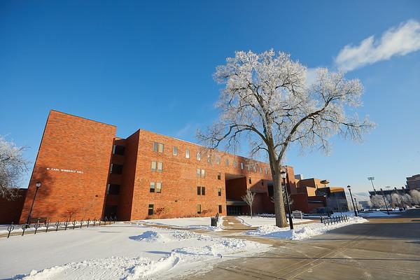 2021 UWL Rime Frost Snow Campus Bluffs 0104