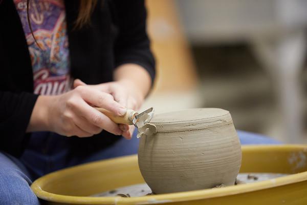 2020 UWL Art Ceramics Woodfired Kiln 0024