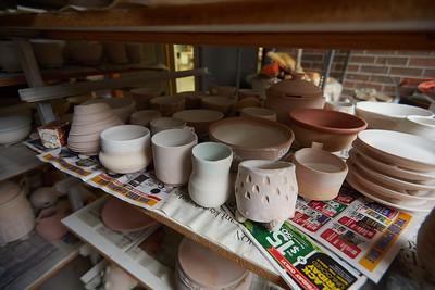 2020 UWL Art Ceramics Woodfired Kiln 0047