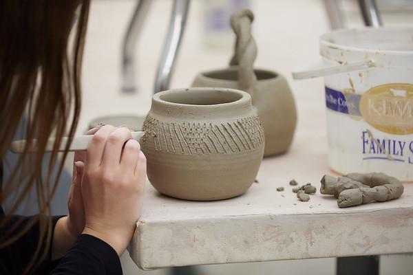 2020 UWL Art Ceramics Woodfired Kiln 0051