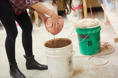 2020 UWL Art Ceramics Woodfired Kiln 0072