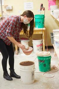 2020 UWL Art Ceramics Woodfired Kiln 0066