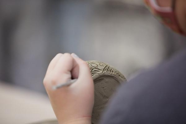2020 UWL Art Ceramics Woodfired Kiln 0057