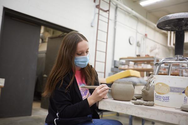 2020 UWL Art Ceramics Woodfired Kiln 0049
