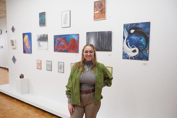 2021 UWL Athena Gates Graduating Art Students Gallery Show 0121