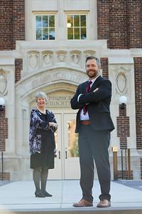 2020 UWL CBA Deans Laura Milner and TJ Brooks 0009