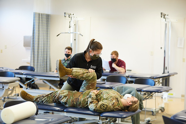 2021 UWL Physical Therapy Hanni Cowley ROTC Partnership 0030