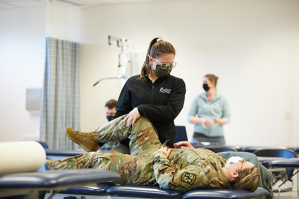 2021 UWL Physical Therapy Hanni Cowley ROTC Partnership 0045