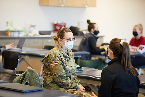 2021 UWL Physical Therapy Hanni Cowley ROTC Partnership 0002