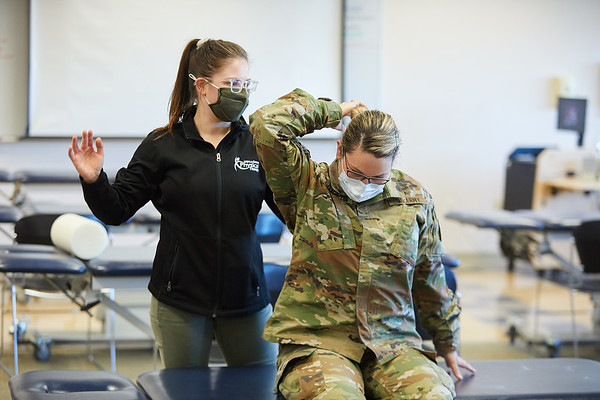 2021 UWL Physical Therapy Hanni Cowley ROTC Partnership 0094