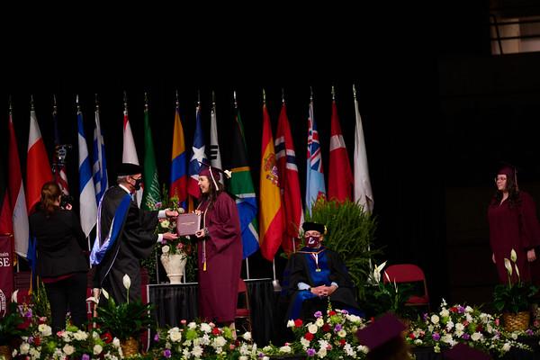 2021 UWL Commencement Graduation La Crosse Center 0331