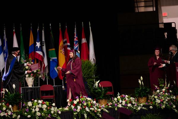 2021 UWL Commencement Graduation La Crosse Center 0327