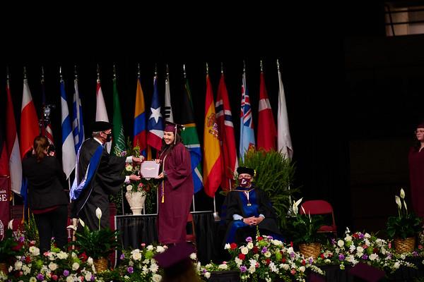 2021 UWL Commencement Graduation La Crosse Center 0329