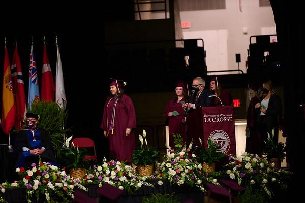 2021 UWL Commencement Graduation La Crosse Center 0325