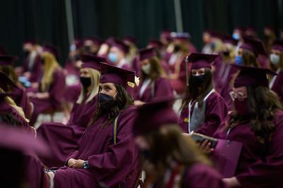 2021 UWL Commencement Graduation La Crosse Center 0252