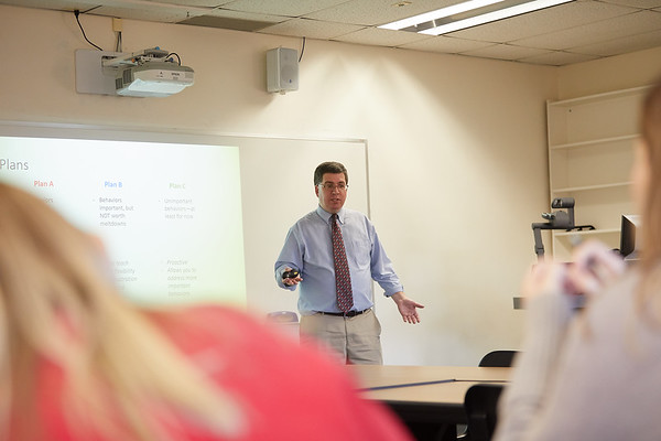 2018 UWL Fall Psychology Faculty Teaching Daniel Hyson 2