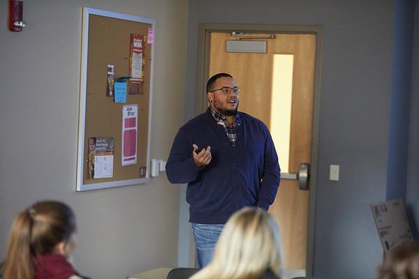 2018 UWL Fall Psychology Faculty Teaching James Puckett 2