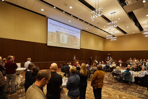 2018 UWL Fall Prairie Springs Science Center Dedication 0039