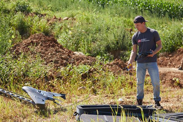 2018 UWL Geography Jackson Radenz Niti Mishria Drone UAS Quarry Survey 0052