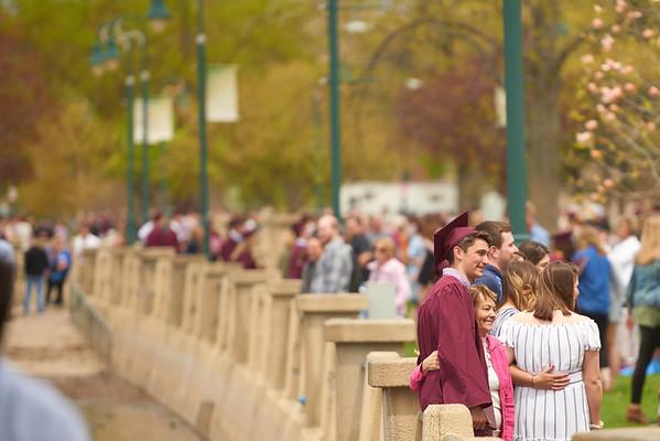 2019 UWL Spring Commencement Graduation 0215